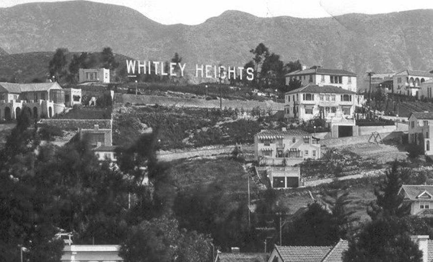 whitley heights historic photo